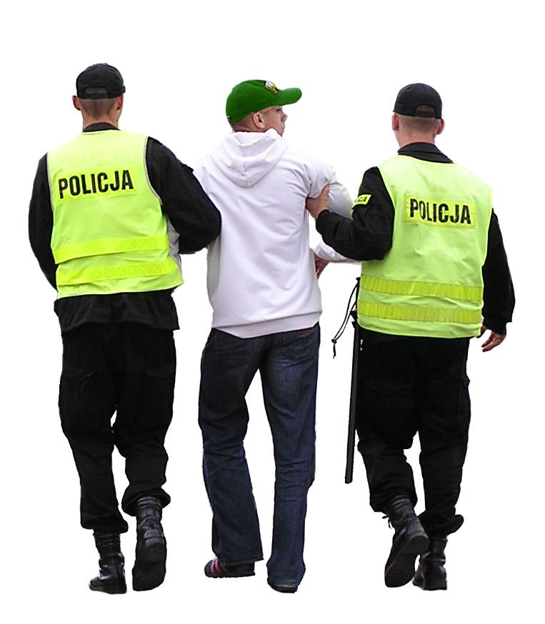 Arest in strainatate